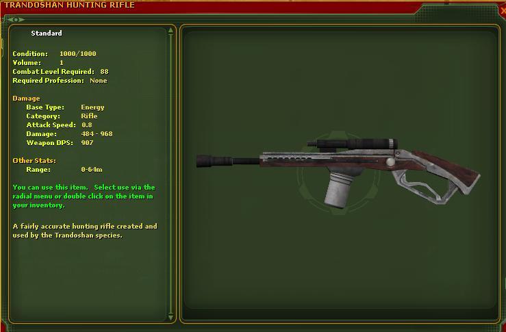 Trandoshan Hunting Rifle