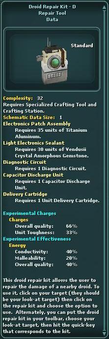 Droid Repair Kit - D