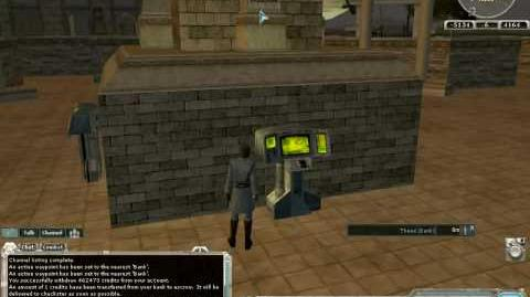 How to play SWG Episode 012 - Bank Terminals & Bank Storage