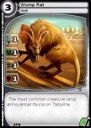 Womp Rat (card)