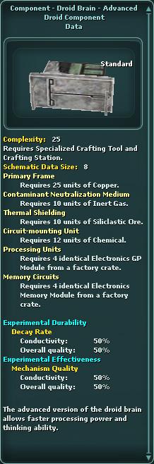 Component - Droid Brain - Advanced