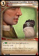 Personnel Comlink Wrist-P4 (card)