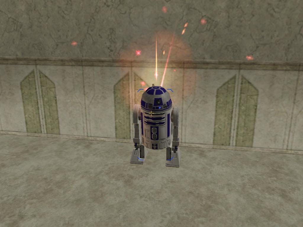 Re-assembled R2 Unit