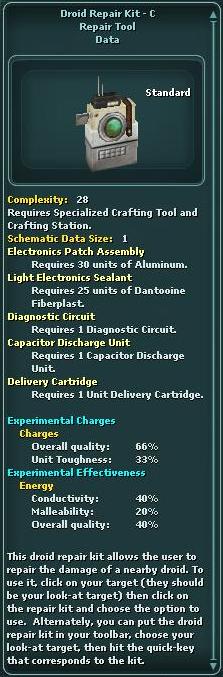 Droid Repair Kit - C