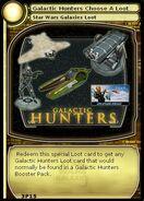 Galactic Hunters Choose A Loot (card)