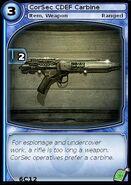 CorSec CDEF Carbine (card)