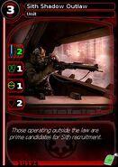 Sith Shadow Outlaw (card)