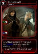 Force Stealth (card)