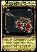Balta-Trabaat BT310 Podracer (card)