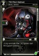 TIE Pilot Helmet (card)