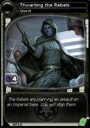 Thwarting the Rebels (card)