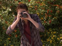 Emmett points camera