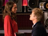 Simone and Toby flirt