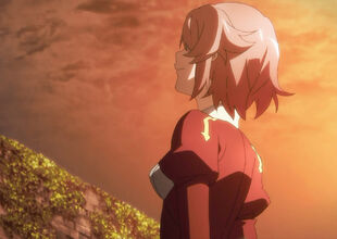 Chan.sankakucomplex.com - 1764671 - sword art online lisbeth screen capture 1girl back to viewer clothed cloud in thought
