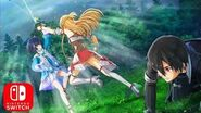 Sword Art Online Hollow Realization - Deluxe Edition Nintendo Switch Trailer