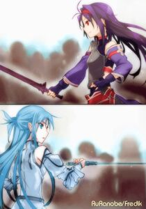 Sword Art Online Vol 07 - 073 colorized1