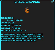 Chaos grenade