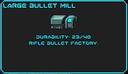 LargeBulletMill