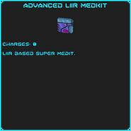 AdvancedLiirMedkit info