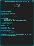 IGI Heavymag Gauss Pistol