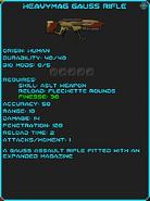 IGI Heavymag Gauss Rifle