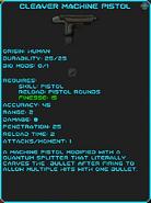 IGI Cleaver Machine Pistol