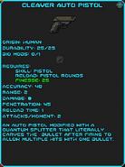 IGI Cleaver Auto Pistol