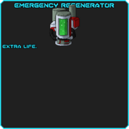 EmergencyRegenerator info