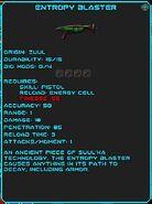 Entropy blaster