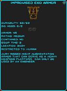 IGI Improvised Exo Armor
