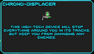 Chrono-displacer