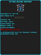 SteelsungArmor info