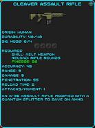 IGI Cleaver Assault Rifle