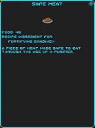 IGI Safe Meat