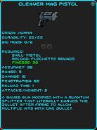 IGI Cleaver Mag Pistol