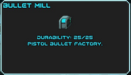 Bullet Mill
