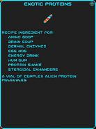 IGI Exotic Proteins