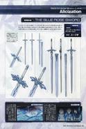 Dengeki Maou SAO 10th Anniversary Special - Blue Rose Sword concept art