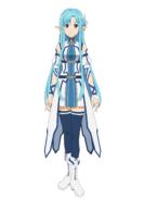 Asuna Millennium Twilight character design