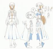 OS Production Book SAO Asuna Design