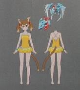 Silica CR Swimsuit Concept Art 2 Gameverse 5th Anniversary Art Book