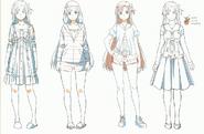 OS Production Book Yuuki Asuna Design Art 3