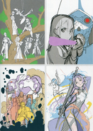 Season 2 BD-DVD sketches Adachi Shingo Artworks art book