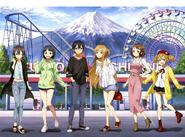 SAO x FujiQ Collaboration Visual April-June 2019