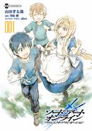 Project Alicization manga volume 1 inner cover