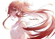 Asuna illustration by Nekobyou Neko on April 7, 2021