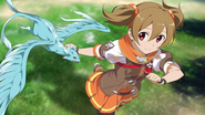 Silica and Pina thrilled after her Heroine Event HR DLC1