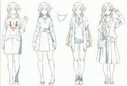OS Production Book Yuuki Asuna Design Art 2