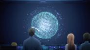 Takeru and Seijirou showing Takeru's Fluctlight copy to Asuna and Rinko - S3E06