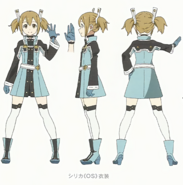 Silica Character Design Art - SAO Secret Report